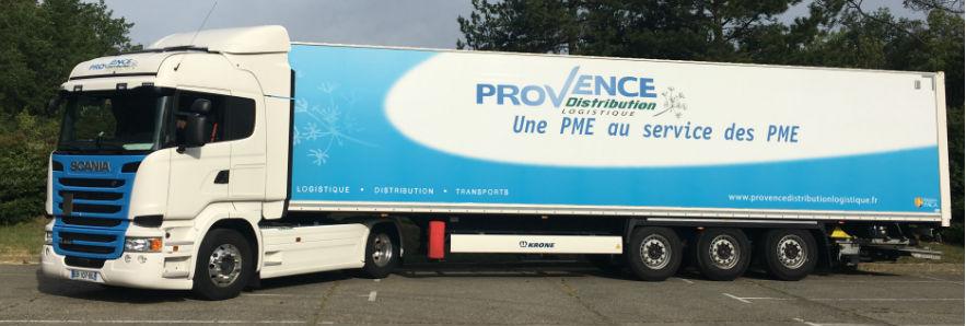 Camion Provence Distribution Logistique