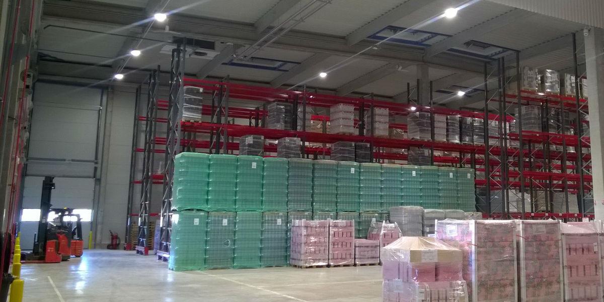 Batiment de stockage Provence Distribution Logistique
