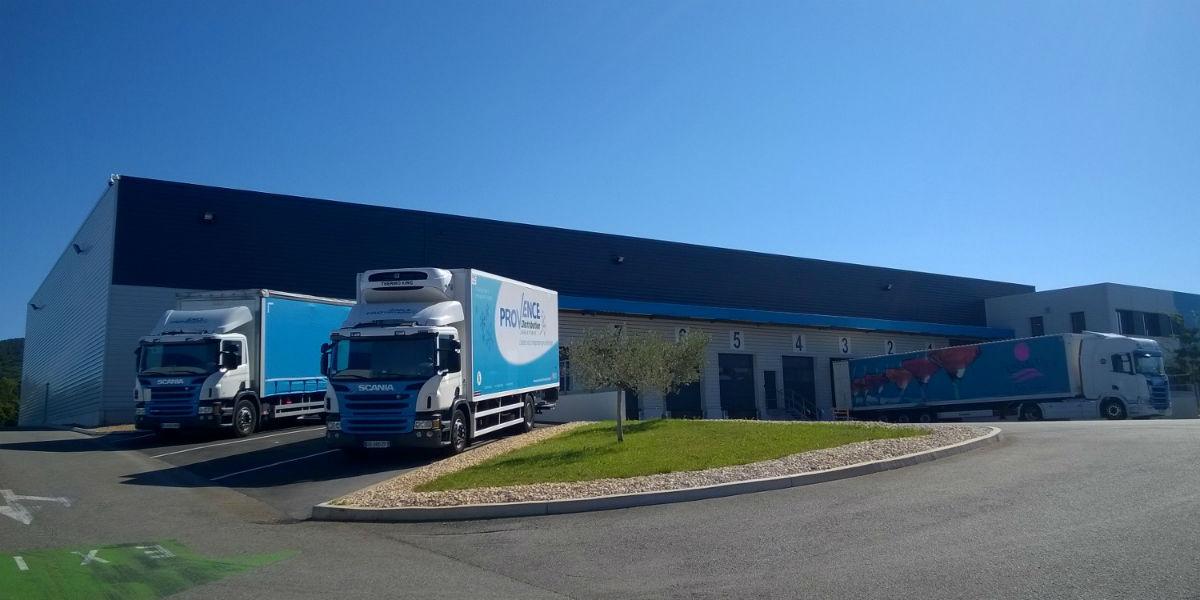 Bâtiment de transport Provence Distribution Logistique