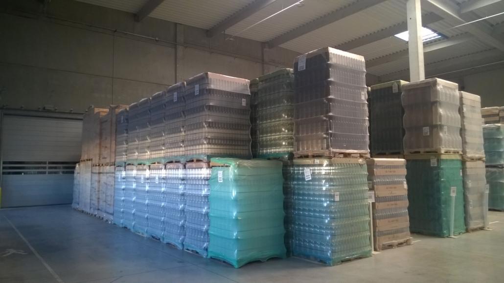 Batiment entrepot plateforme stockage vin Provence Distribution Logistique