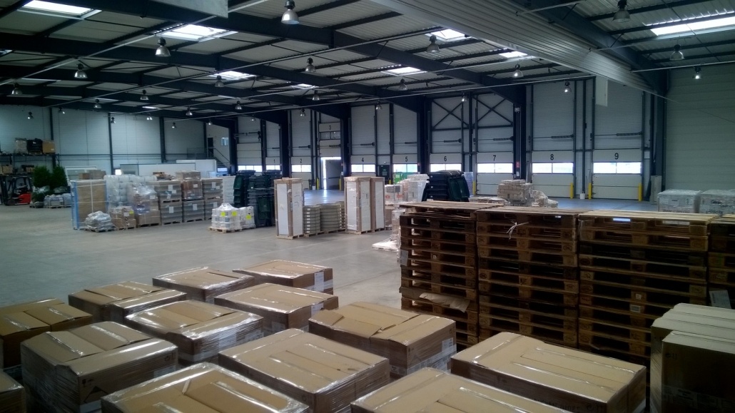 Plateforme cross dock Provence Distribution Logistique