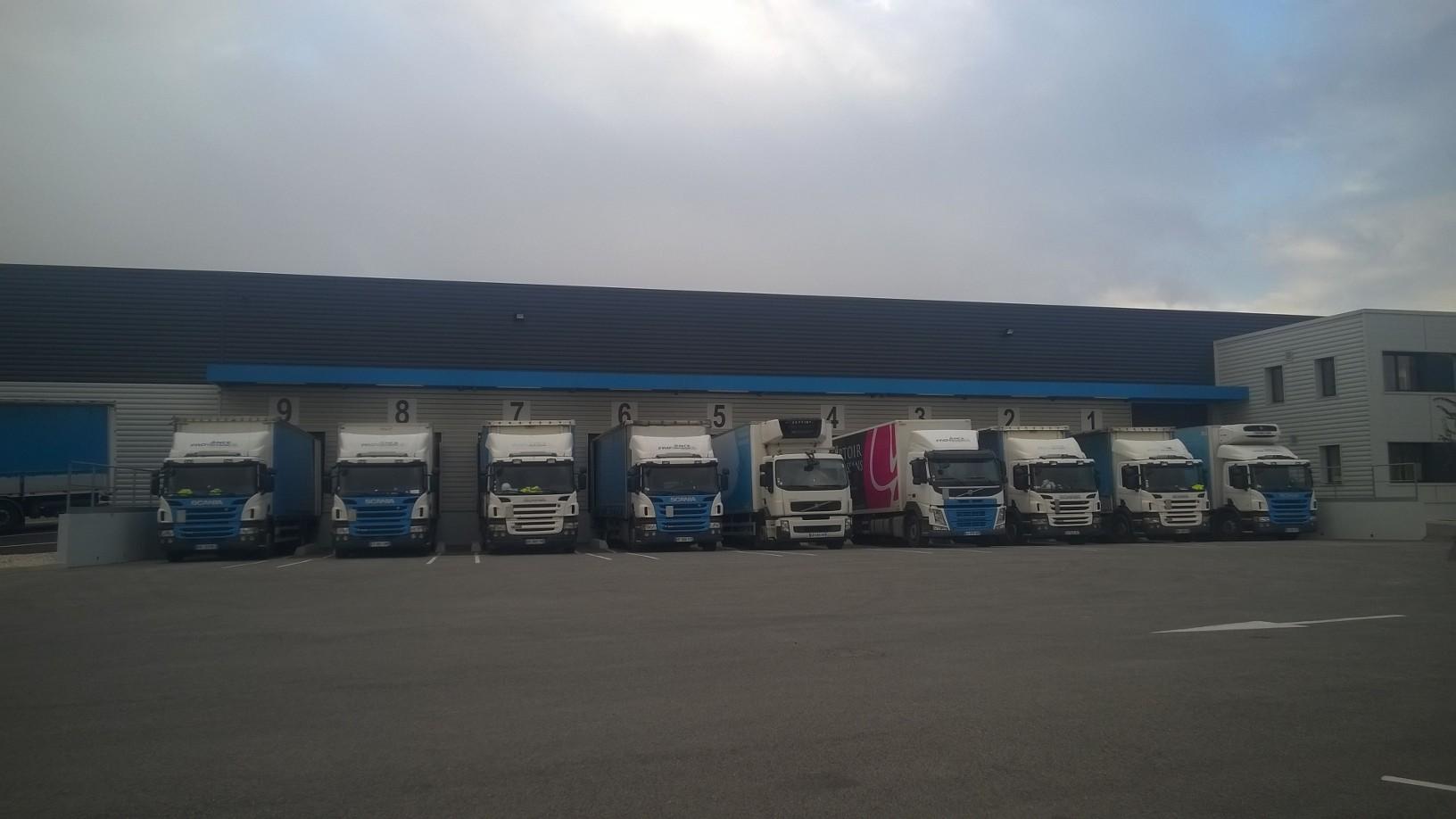 Provence Distribution Logistique parc flotte camions