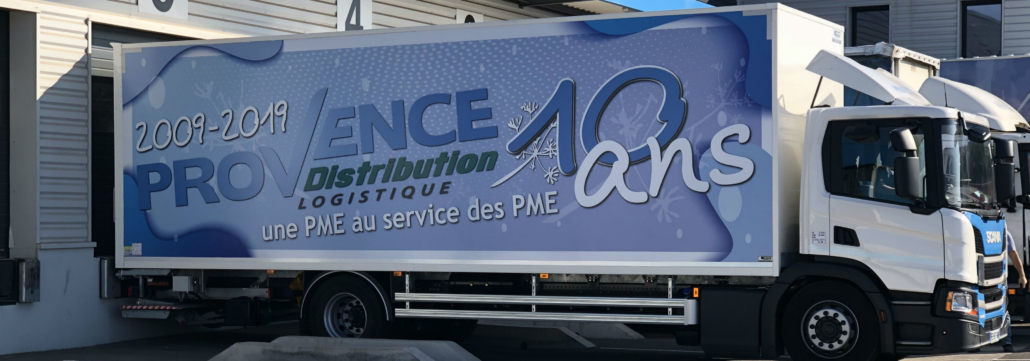 Provence Distribution Logistique Camion Porteur 10 ans