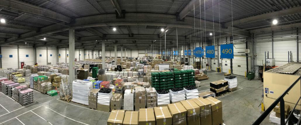 Plateforme MDL filiale Provence Distribution Logistique et Transports Coué