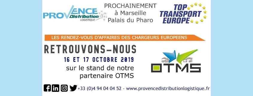 Provence Distribution Logistique au Top Transport avec OTMS