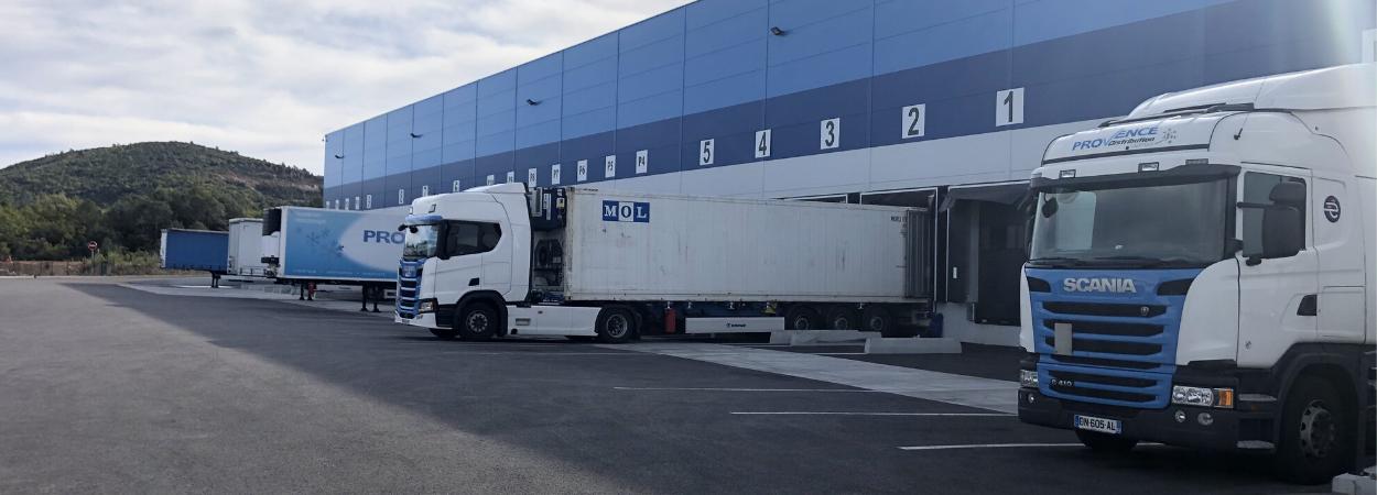 Provence Distribution Logistique entrpot flux import export