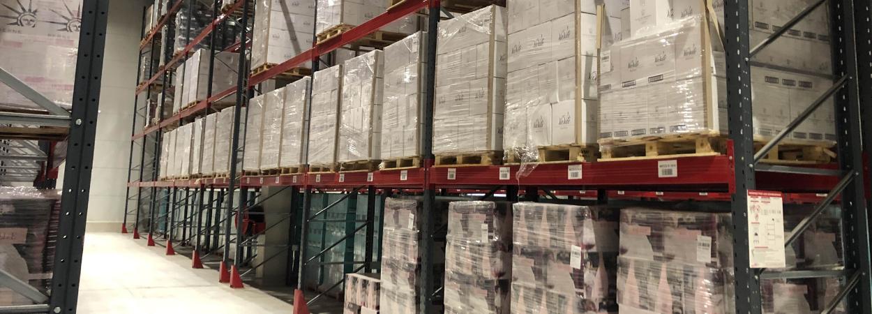 Provence Distribution Logistique entrepot stockage optimisé via rack