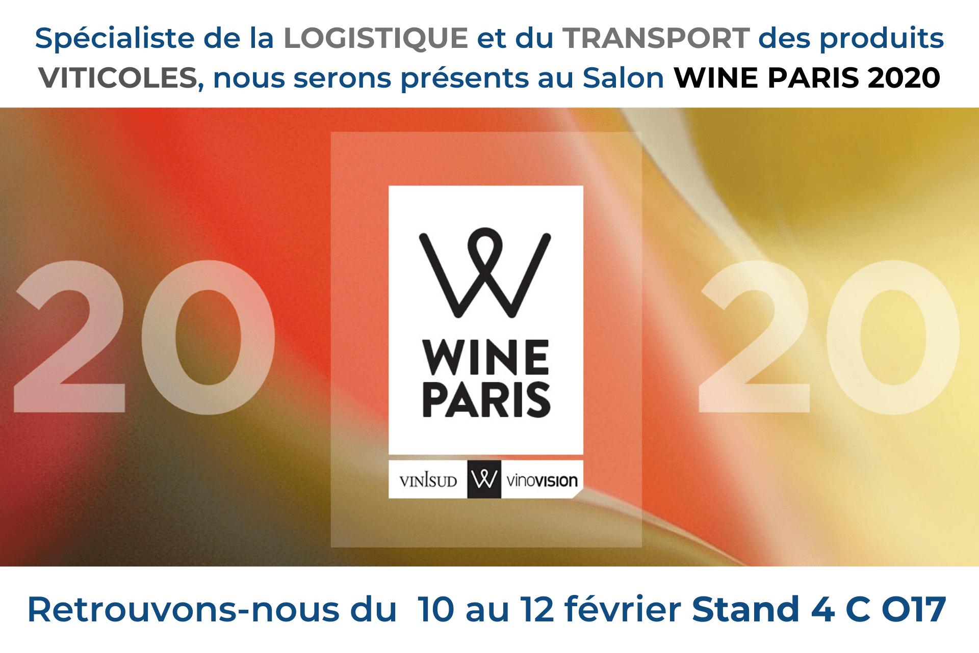 Provence Distribution Logistique au salon Wine Paris 2020