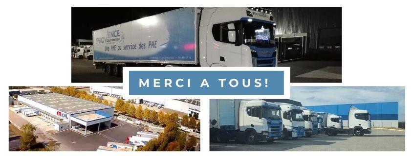 Période Coronavirus Provence Distribution Logistique soutien ses équipes !